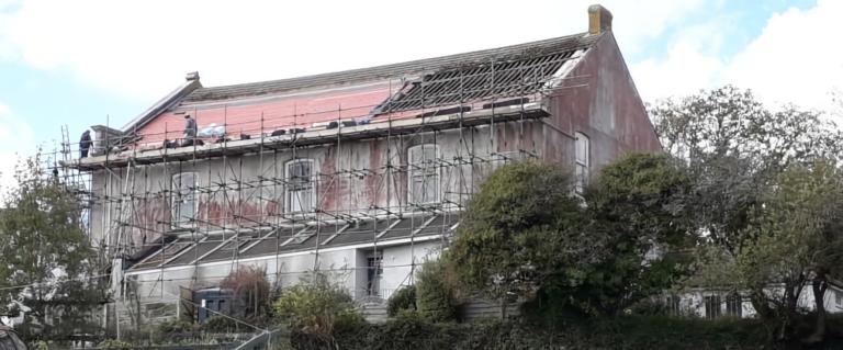 Tolmen Centre roof